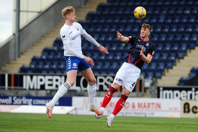 The Falkirk Stadium, pictured hosting last Saturday's League One match between the Bairns and Montrose, is now about to be home to Queen's Park too (Picture Michael Gillen)