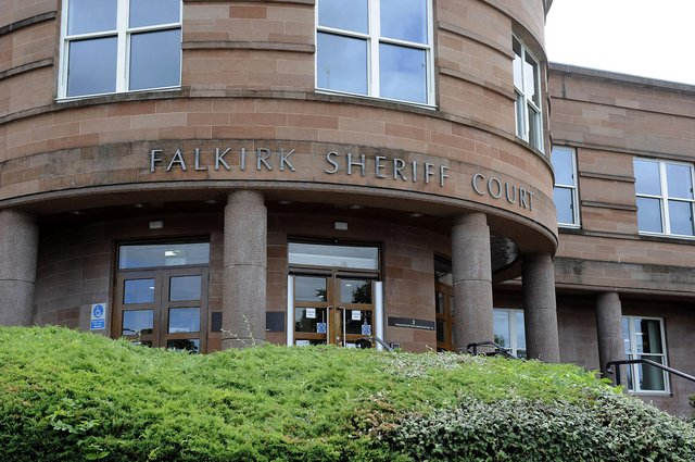 Fowler did not appear at Falkirk Sheriff Court on Thursday but she was admonished in her absence