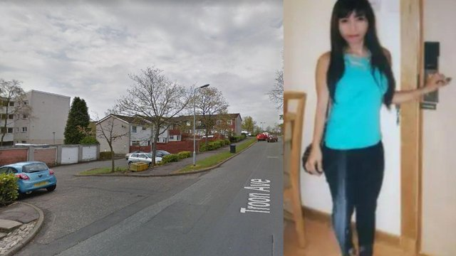 The disappearance of Bennylyn Burke, and her young daughter is now a murder investigation (Photo: Police Scotland and Google Maps).