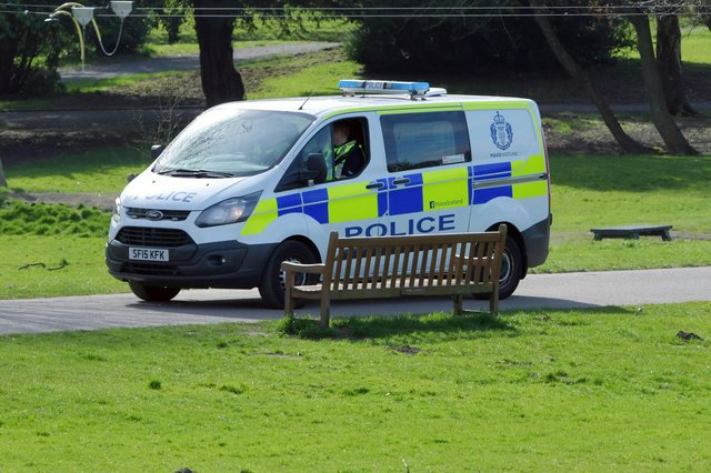 Police charged a man in connection with an incident in Muiravonside Country Park on April 5. Picture: Michael Gillen.