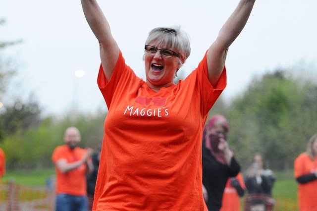 The challenge raised a fantastic £8000 for Maggie's Forth Valley (Pic: Michael Gillen)