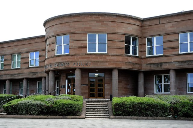 Motorcyclist Dutka appeared at Falkirk Sheriff Court after he was caught transporting cannabis