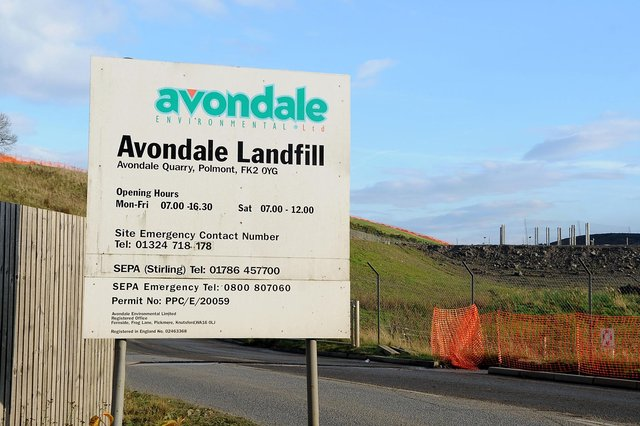 There are plans to bring another hazardous waste cell to Avondale landfill site