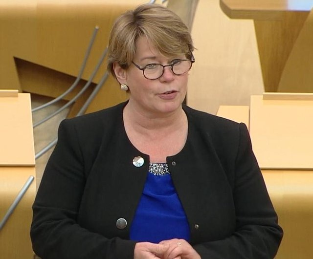Falkirk East MSP Michelle Thomson gave her first speech at Holyrood last week