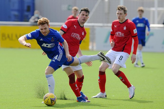 Falkirk lost 2-0 to former manager Paul Hartley's Cove Rangers at the Balmoral Stadium just seven days ago