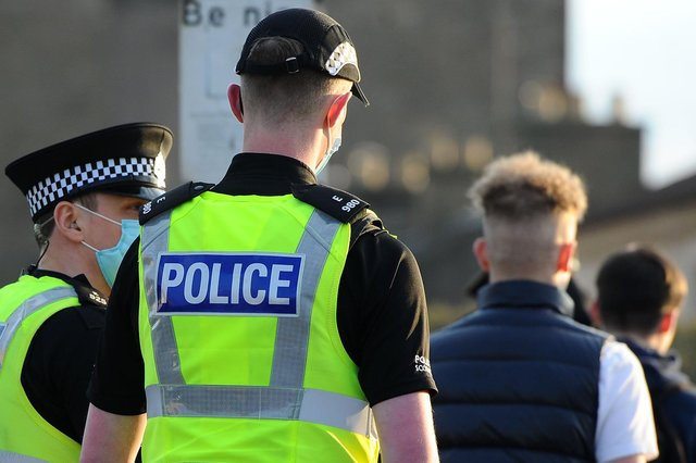 Police are cracking down on anti-social behaviour in Stenhousemuir. Picture: Michael Gillen.