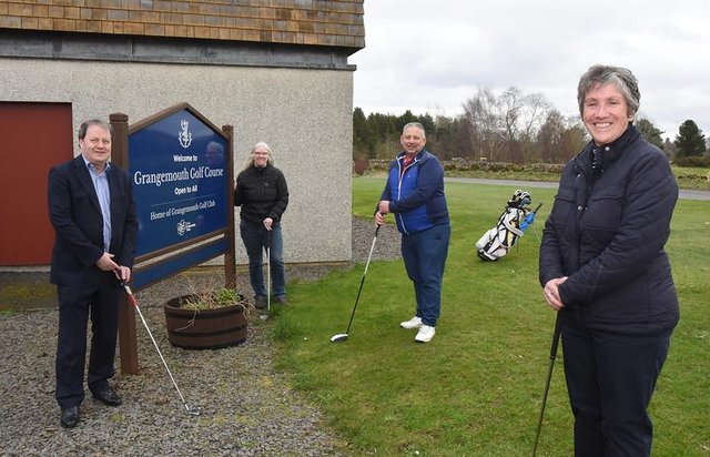 Grangemouth Colf Club is on course for a bright future thanks to a new partnership between Falkirk Community Trust and the club
