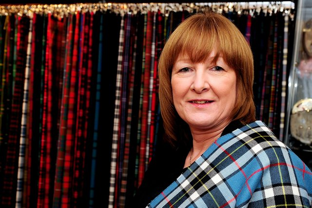 Norma Louden, Kiltpin owner and manager. Picture: Michael Gillen.
