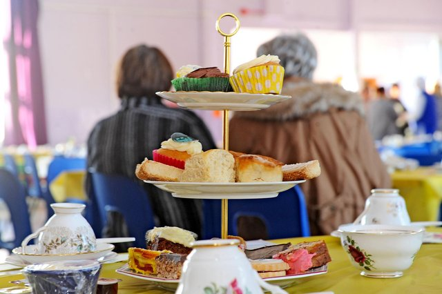 Time to host a tea party for Strathcarron Hospice's 40th anniversary
