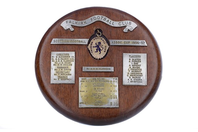 The 1957 Scottish Cup winners' medal up for auction next week