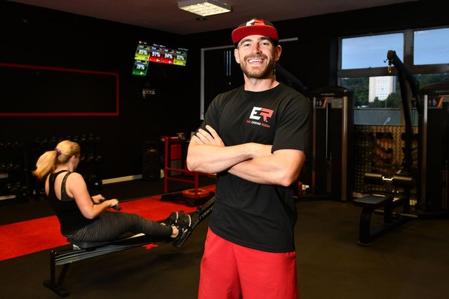 Connor Russell, owner and head coach of The Engine Room, led a winnng effort by members in the MyZone challenge