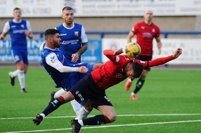 Falkirk and Montrose resume their League One campaigns on Saturday afternoon in the division's game of the day. Pic by Michael Gillen