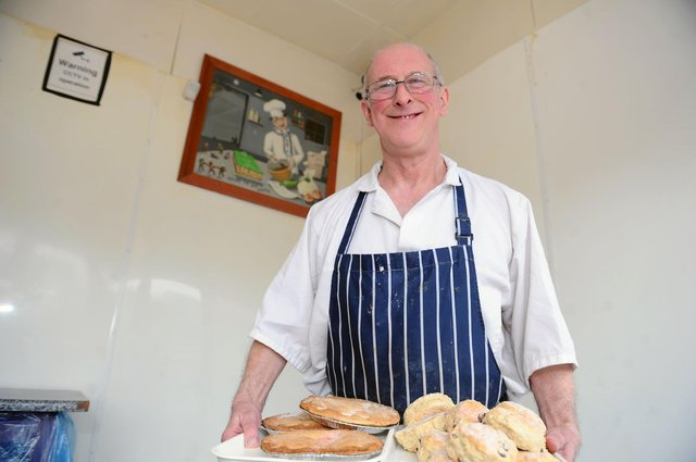 Scott Robertson is celebrating 30 years in business at his Bowhouse Bakery