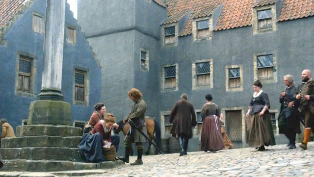The square has famously been used in Outlander.
