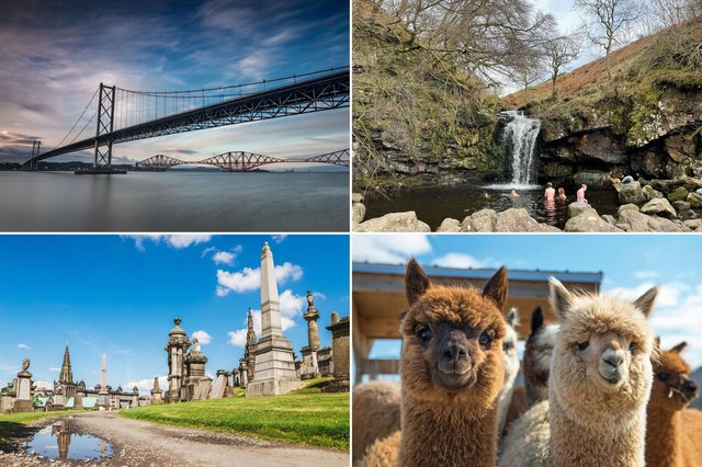 Some of the amazing experiences within an hour's drive of Falkirk.