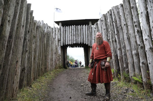 Clanranald Trust founder Charlie Allan welcomes you inside the gates of Duncarron Medieval Village later this month