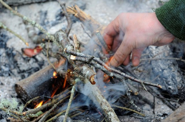 People from Forth Valley are being urged to follow fire safety rules when camping.