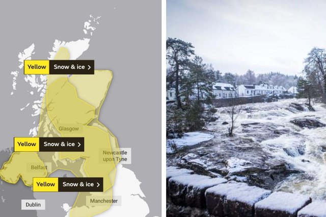 Storm Bella: Met Office warns of high winds and icy conditions in Scotland