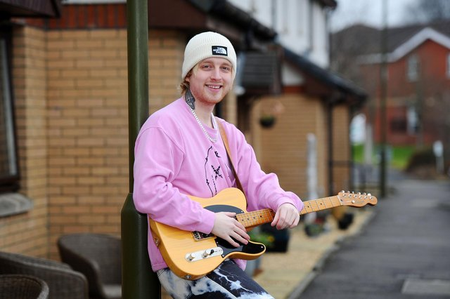 Craig Eddie, The Voice 2021 semi-finalist (Photo: Michael Gillen).