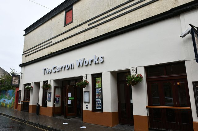 The Carron Works pub in Bank Street, Falkirk will reopen in April. Picture: Michael Gillen.