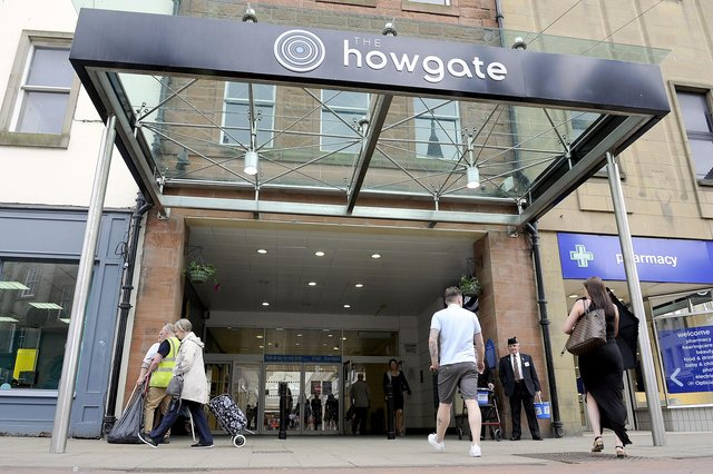 The Howgate Shopping Centre, Falkirk will turn off piped music in the facility on Thursday mornings to support elderly visitors. Picture: Michael Gillen.