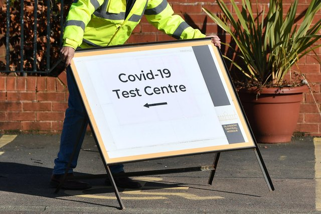 The temporary COVID-19 testing centre will be located at Bon'ess Recreation Centre until Sunday, March 14