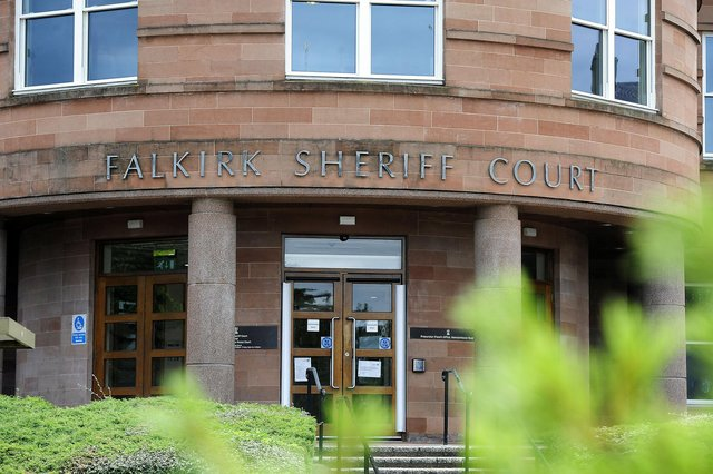 Kirsty Gorman was fined at Falkirk Sheriff Court after she stole £1500 from her 83-year-old mother-in-law. Picture: Michael Gillen.
