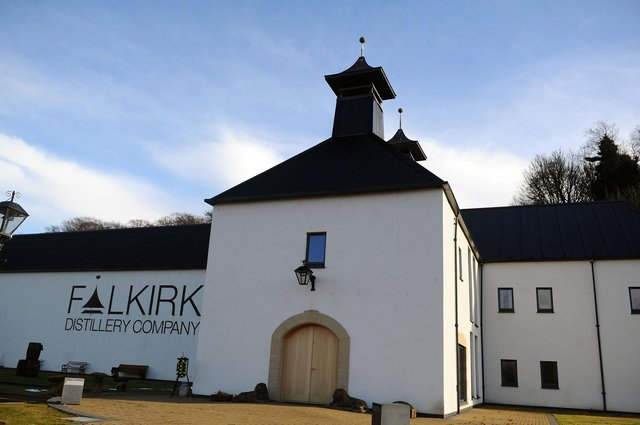 Falkirk Distillery Company is now distilling a single malt following a decade-long wait. Picture: Michael Gillen.