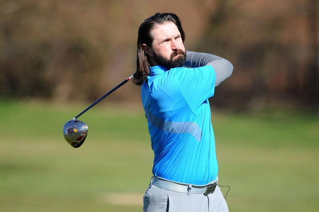 Actor David Haydn has taken a year off work to focus on improving his golf and is documenting it on a web series