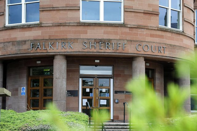 Kevin Kerr appeared at Falkirk Sheriff Court last Thursday. Picture: Michael Gillen
