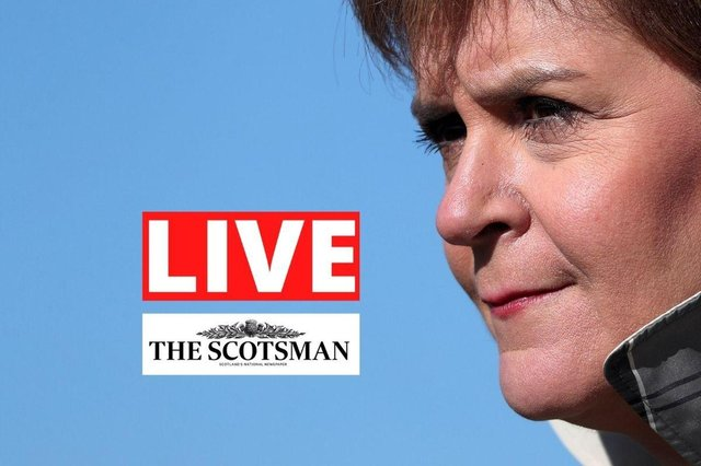 Nicola Sturgeon will give an update on the pandemic in Scotland today.