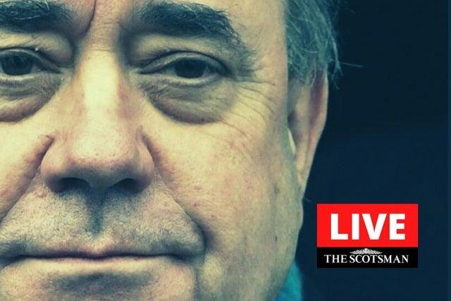 Former Scottish first minister Alex Salmond is to make a public statement.