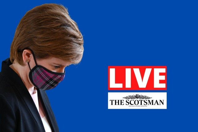 First Minister Nicola Sturgeon is set to give a coronavirus update on Tuesday.