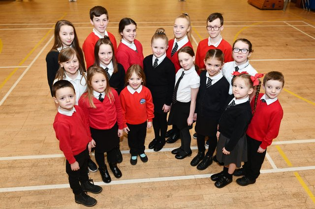 Grangemouth Children's Day Queen elect Amy Meichan and her fellow Bowhouse Primary School pupils were full of excitement in anticipation of their big moment in the sun when this picture was taken back in February last year
