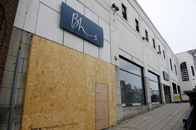The former BHS store in Callendar Square will become a temporary job centre according to the DWP