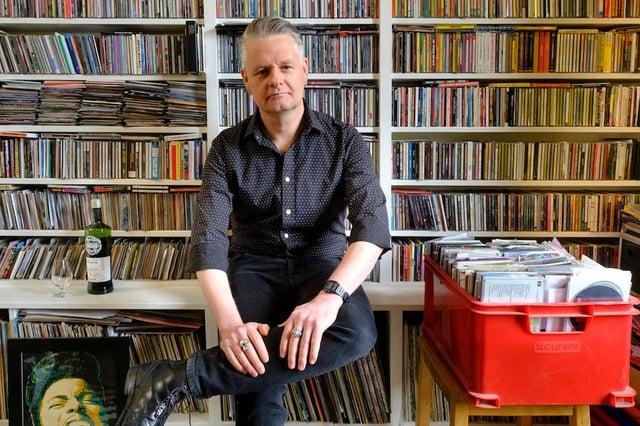 Vic Galloway at home in Edinburgh
