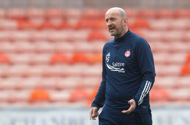 Aberdeen coach Paul Sheerin is the latest name to be linked with the vacant Falkirk manager's job (Photo by Craig Foy / SNS Group)