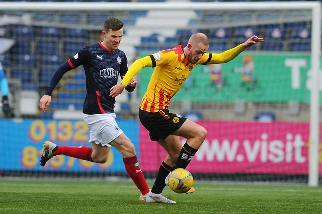 Falkirk, now sitting second, take on league leaders Partick Thistle next Thursday, April 29 at Firhill