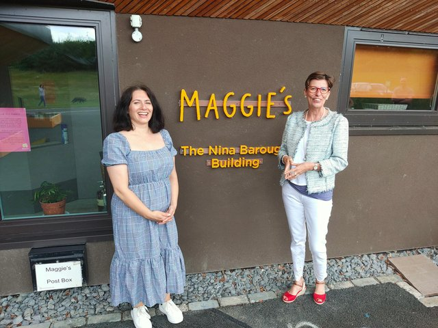 """Rutz Consulting """"paid for a day"""" at Maggie's Forth Valley on Friday, July 2."""