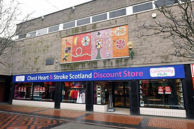 Chest Heart & Stroke Scotland Grangemouth (Pic: Michael Gillen)