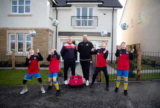 Falkirk groups could be successful just like former applicants GCHC and Erskine Youth Football Club.'
