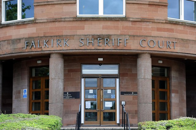 Horne appeared at Falkirk Sheriff Court today to answer for his offending behaviour
