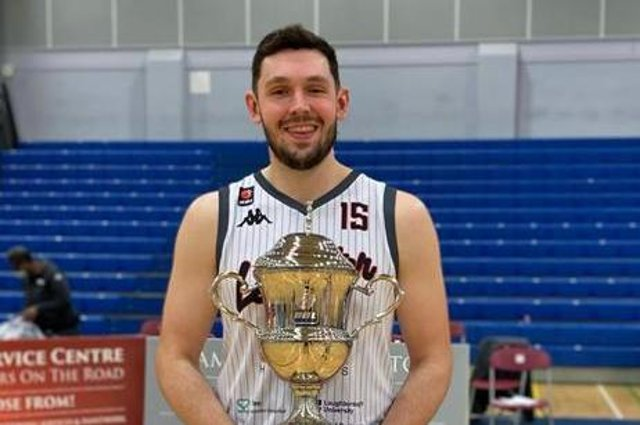 Falkirk's Ali Fraser, a former Fury player, became just the third Scottish Basketball player to lift the BBL Cup after winning the title with Leicester Riders last weekend