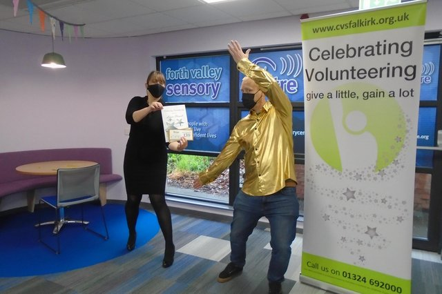 Panel's Choice winner Laura Stewart, Forth Valley Sensory Centre.