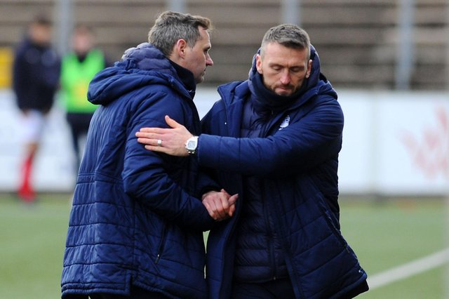 David McCracken and Lee Miller have to shoulder their share of the blame for Falkirk's recent run of poor performances but they have been badly let down by several of their players
