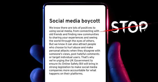 Join the weekend boycott of social media