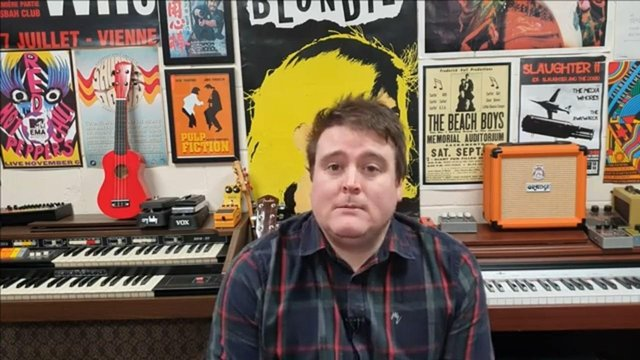 Dan McGibbon says he was forced to walk away from The Bunker in Bonnybridge after Falkirk Council failed to support him during the COVID-19 pandemic and he has now handed over the reins to Water front Studio's Andrew Scott