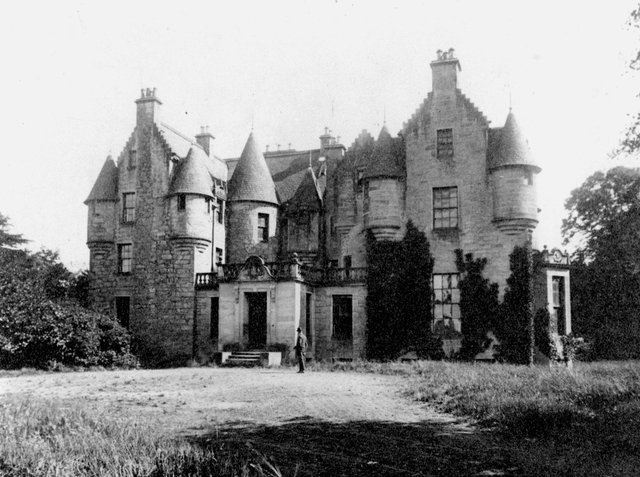 The long demolished Stenhouse mansion.
