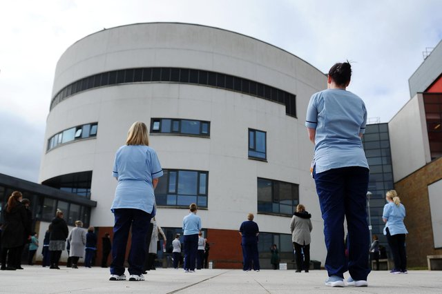 National Day of Reflection at Forth Valley Royal Hospital (Pic: Michael Gillen)