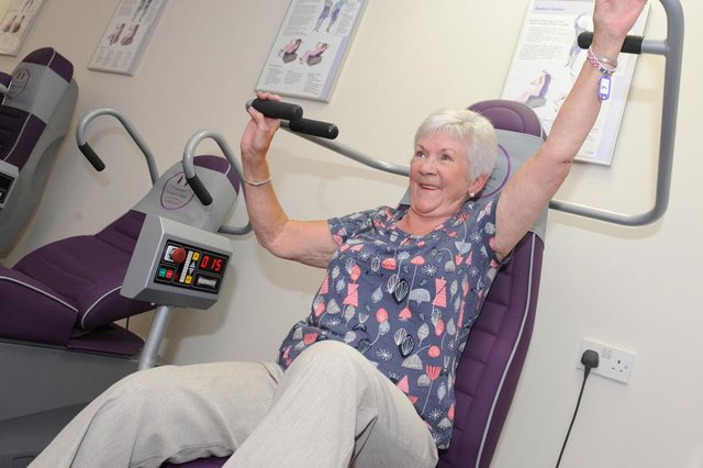 Grangemouth Feelgood Centre features power assisted gym equipment